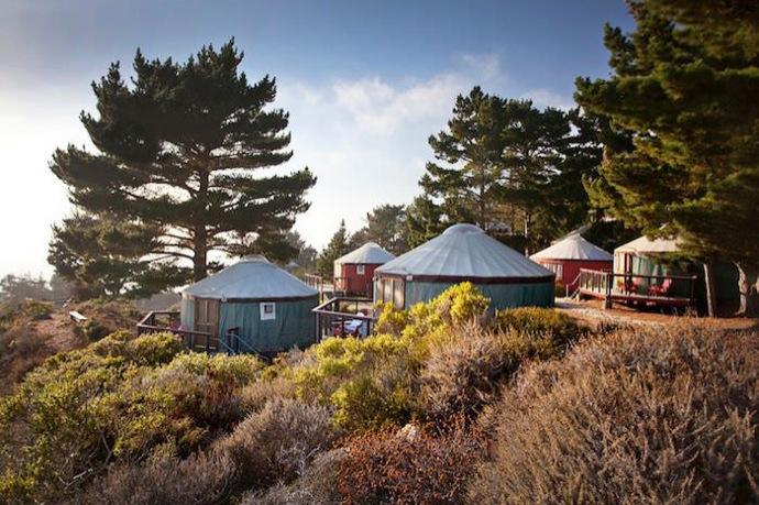 What S A Yurt Treebones Resort