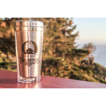Treebones Resort Stainless steel coffee tumbler