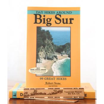 Best selling day hike book bundled with Treebones bookmark.